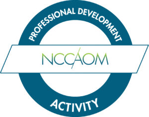 NCCAOM Approved Acupuncture CEUs