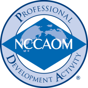 NCCAOM Acupuncture PDA